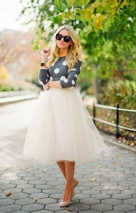 how_to_wear_tulle_skirt_cute